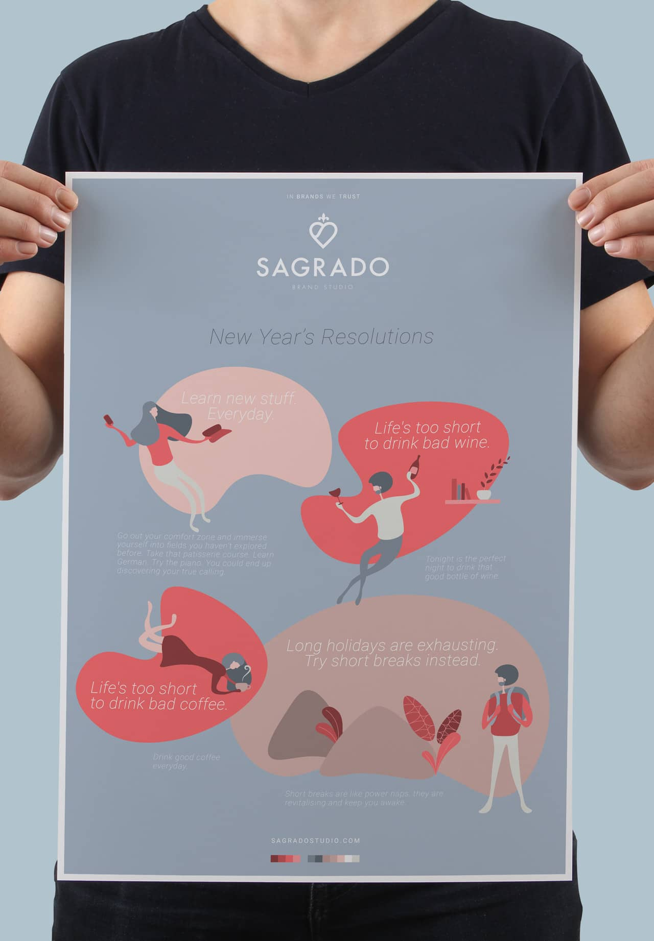 Sagrado Studio New Years Resolutions