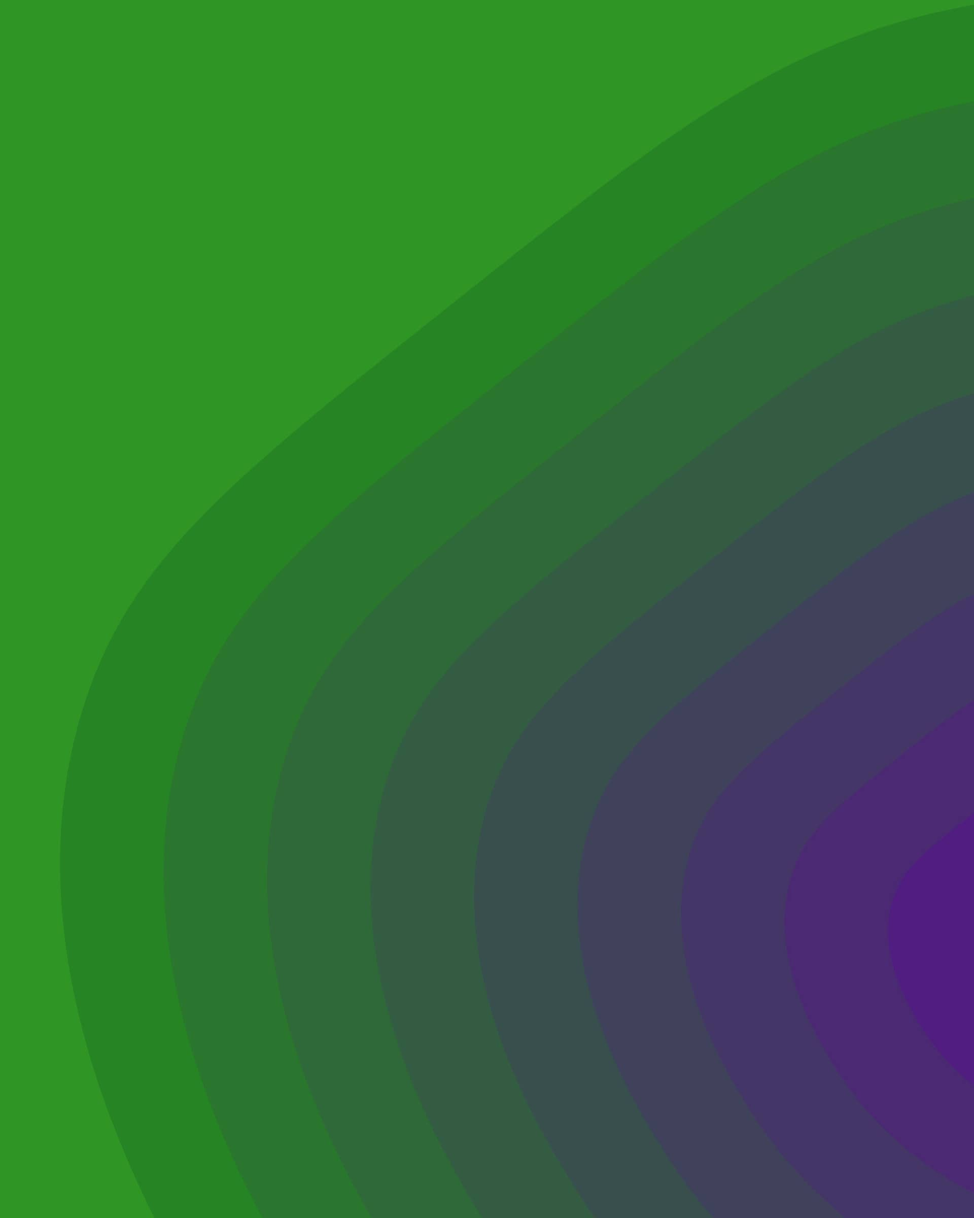 Yosiento branded purple-to-green organic background